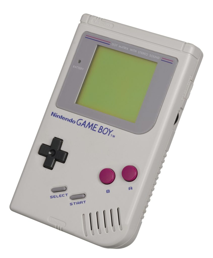erster GameBoy classic 1989