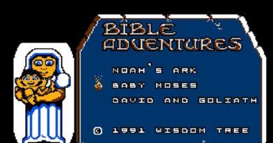 Bible Adventures NES Start