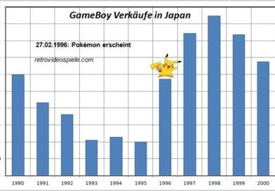System Seller Pokemon GameBoy Verkaufszahlen Japan
