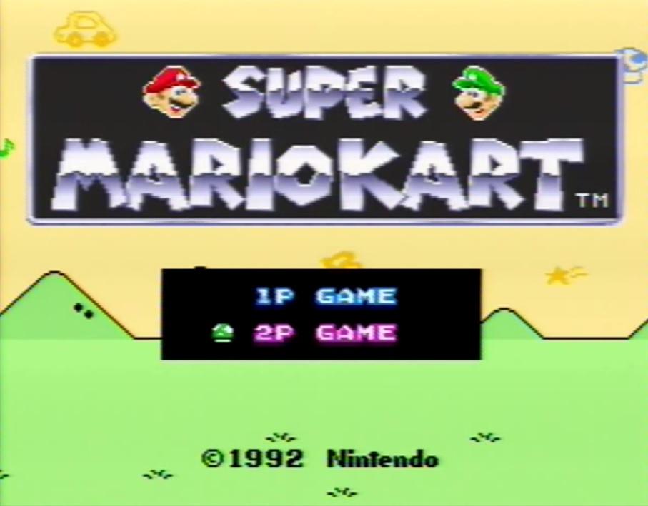 Super Mario Kart Zwei Spieler Alternativer Modus Koop