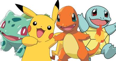 Starter Pokemon Bisasam Schiggy Glumanda Pikachu