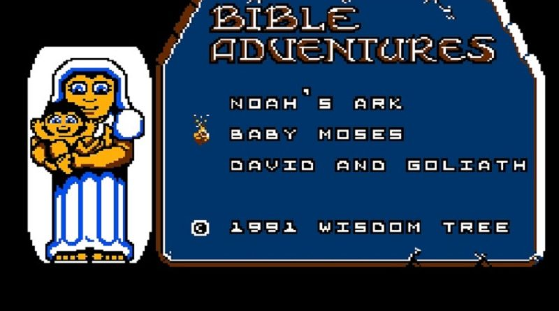 Bible Adventures NES Start