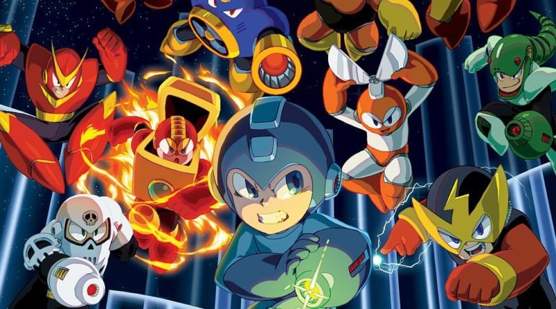 Mega Man Legacy Collection Switch