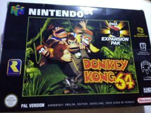 N64 Wert Expansion Pak Donkey Kong