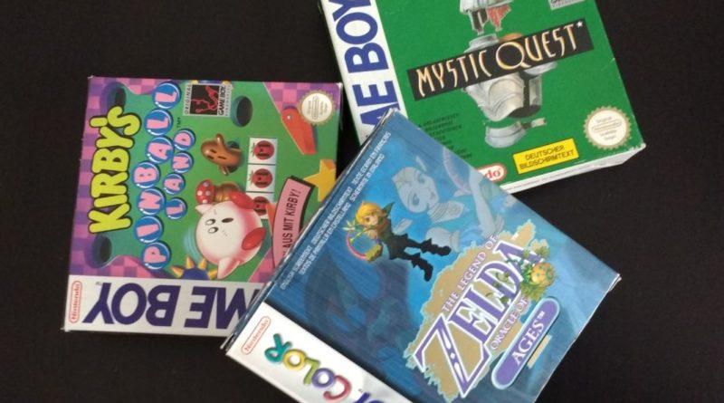 GameBoy Spiele Wert OVP Zelda oracle of ages