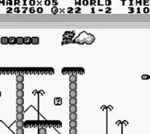 Super Mario Land GameBoy Grafik