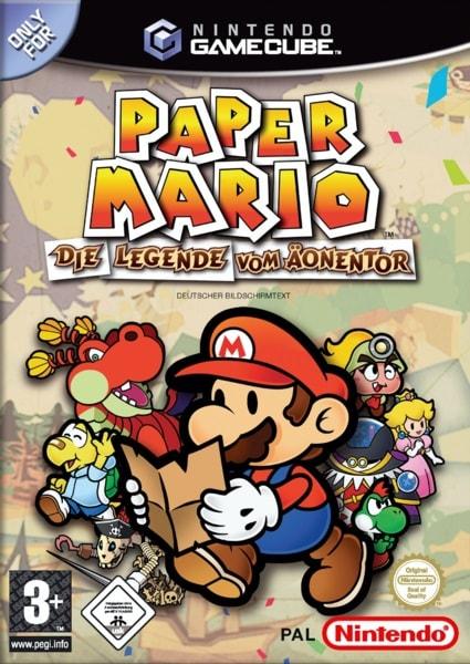 Paper Mario Legende vom Äonentor wert