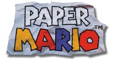 Paper Mario Logo Wert