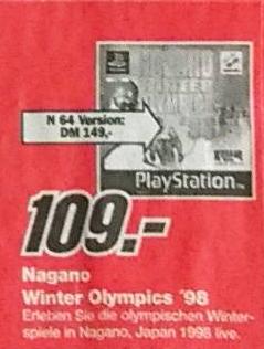 N64 Playstation Spiele Preise