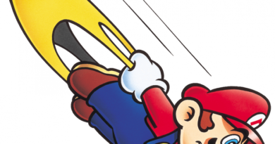 Super Mario World Cape Mario