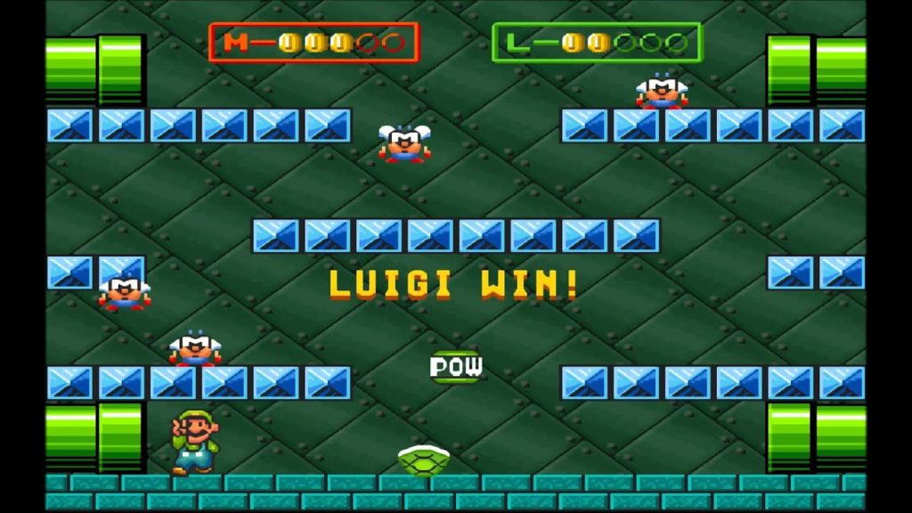 Super Mario Bros 3 SNES All Stars Battle Mode