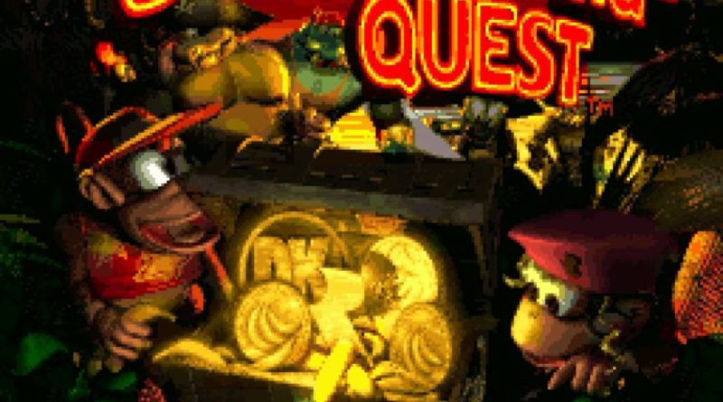 Donkey Kong Country 2 SNES Diddys Kong Quest