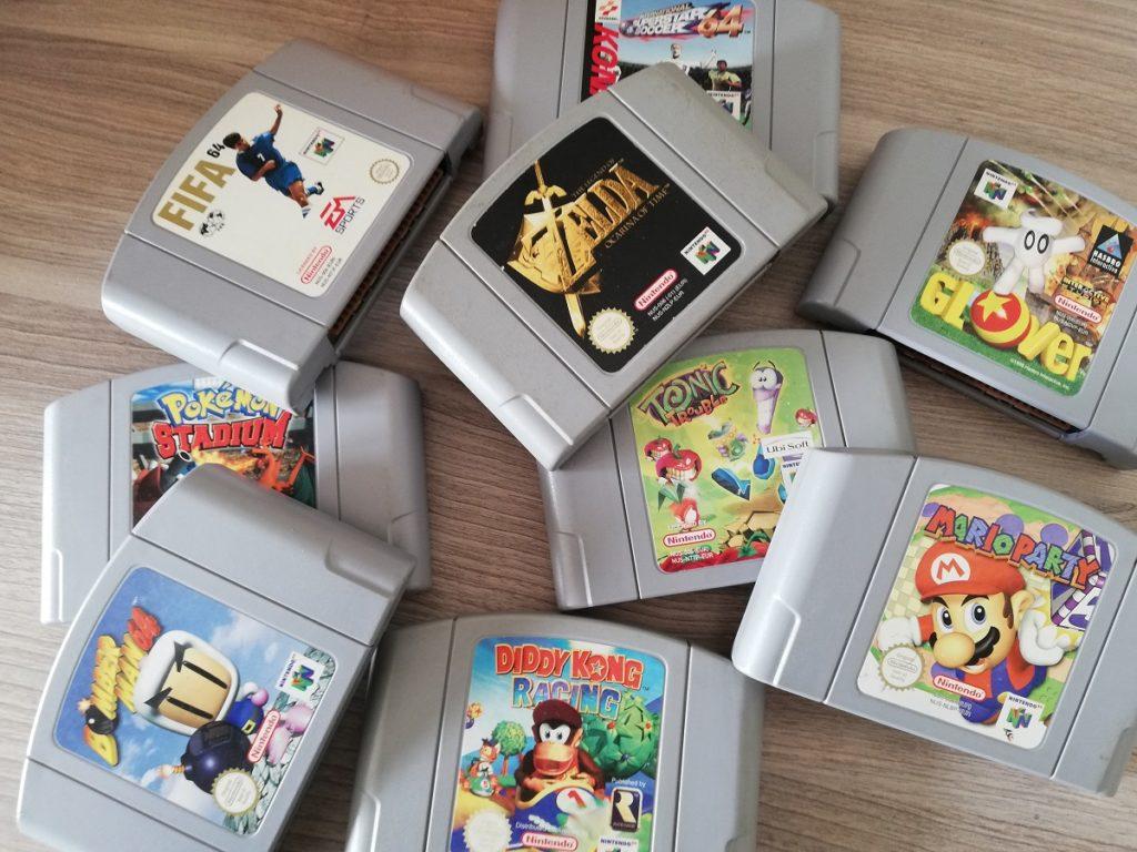N64 Spiele Module
